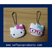 Quality OEM Logo Printed Key Chains / Custom 2D 3D Animal PVC Key Chain for Girls Gifts for sale