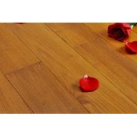 Quality wax oiled massive parquet wood flooring - teak for sale