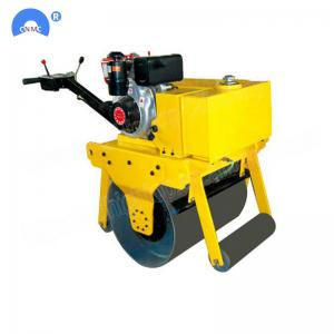 Quality Drive Type Double Steel Wheel Handle Vibratory Mini Road Roller Compactor With CE Certification For Sale for sale