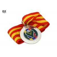 Best Blank Metal Custom Award Medals , commemorative medals With Epoxy Sticker Logo wholesale