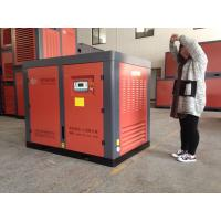 55KW 75HP Screw Belt Driven Air Compressor / Low Noise Air Compressors