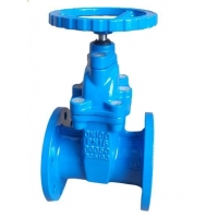 Quality Non Rising Resilient Seated  PN16 DN100 Ductile Iron Gate Valve for sale
