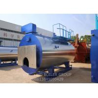 Quality Automatic Natural Gas Fired Steam Boiler For Food And Textile Factory for sale