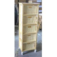 China Small Real Pine Solid Wood Storage Cabinet , Living Room Storage Cabinets on sale