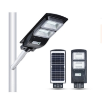 Quality IP65 Remote Control 60W Solar LED Street Light for sale
