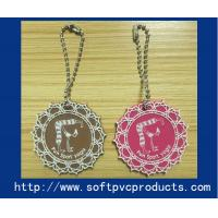 Quality Flower Promotion Products Custom Key Chains / Novelty Soft PVC Rubber Keyrings for sale