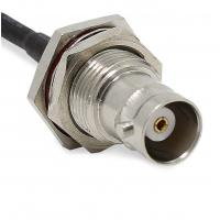 Buy Cable Pigtail Sma Bulkhead Connector , 20CM Length Sma Rf Connector at wholesale prices