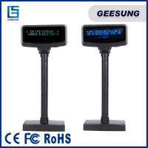 Best Pos Customer Pole Display  2 X 20 Line Vfd Usb / Rs232 Customer Display wholesale