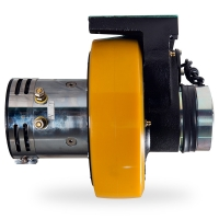 China Automatic Navigation 1.2kw Dc Stacker Sepex Motor Drive Wheel for sale