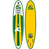 Quality Green Inflatable SUP Board SUP11' Inflatable Fishing Sup With LOGO Customized for sale