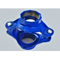 Quality DIN2950 12inch Blue Grooved  Mechanical Tee / Sprinkler Pipe Connectors for sale