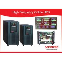 Best 1Ph in / 1Ph out online High Frequency Ups with Large LCD display , RS232 / SNMP / USB Optional wholesale