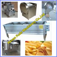 Quality Potato chips processing equipment, potato chips making machines for sale