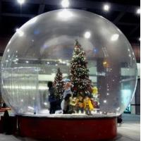 Quality Snow Globe / Crystal Ball Inflatable Bubble Tent For Christmas Activities for sale