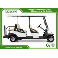 Quality EXCAR  CE Approved Hotel Elegant 6 Person Electric Golf Buggy/Trojan Battery for sale