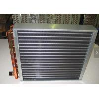 Quality Aluminum Fin Type Heat Exchanger Treated With Powder Coating Prevent Corrosion for sale