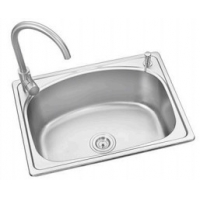 Quality southeast asia hot sell plating square stainless steel #201kitchen sink 50*40CM for sale