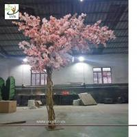 Best UVG 12ft high pink color artificial cherry blossom trees for weddings CHR157 wholesale