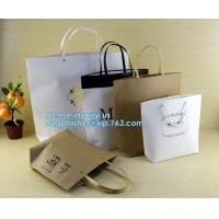 China customized Packaging Carrier-Bags Boxes Luxury Property Resorts Folding Ribbon,background luxury gift paper bag carrier on sale