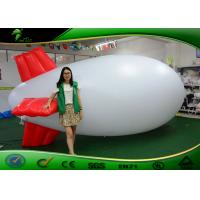 China Inflatable Airship PVC Helium Balloon / Inflatable Advertising Blimps For Promotion on sale