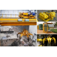Quality Hydraulic Remote Control Clamshell Grab Bucket For Waste Metals for sale