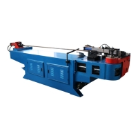 Quality Stainless Steel CNC  Single Head 40mm Metal  Tube Bending Machine for sale