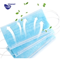 Quality Dust Prevention Triple Layer Earloop Face Mask for sale