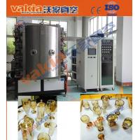 Quality Crystal Cups PVD Coating Equipment Glass Ashtrays Gold Arc Plating Machine for sale