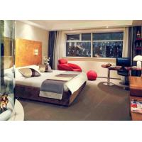 China Custom Luxury Hotel Bedroom Furniture Sets King Size Bed Fashionable on sale