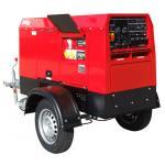 China Mobile Trailer 600Amp Engine Driven Welding Machine Genset Diesel Generator Tig Arc Welder for sale