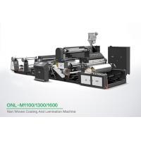 Quality High Speed Coating Non Woven Lamination Machine With CE Certification for sale