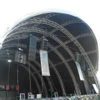 Quality 300x300mm Bolt / Strong Capacity Aluminum Stage Box Truss And Display Truss for sale