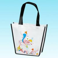 Quality Die Cut Bag / Puch Bag / Non Woven Handle Bag for sale