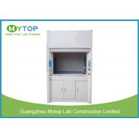 China Metal Fume Hood For Chemical Laboratory 5 Feet , Safety Chemistry Vent Hood on sale