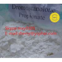 Raw Powder Drostanolone Propionate  CAS: 521-12-0 99% Purity With Factory Supplier!!!
