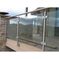 China Contemporary Toughened Glass Balustrade Opaque Glass Baluster Panels on sale
