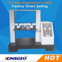 China 5T Computer Container Carton Compression Pressure Testing Equipment 1/250000 Resolution on sale