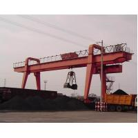 Quality Double Girder Rail Mounted MZ model gantry crane with grab for sale