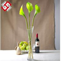 Buy cheap Artificial Faux Home Decor PU Real Touch High Quality Mini Calla from wholesalers