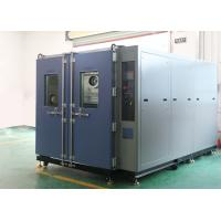 Quality Stainless Steel Environmental Test Chamber Walk-in Test Chamber for Diesel Generator and Motors for sale