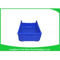 Quality Shelf Wall Mounted Industrial Plastic Storage Boxes , Heavy Duty Plastic Stackable Bins for sale