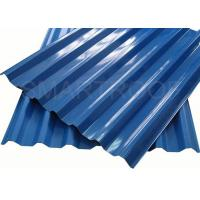 Quality Sound Proof  Villa Plastic Roof Material Easy To Install , PVC Hollow Sheet for sale