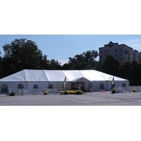China Heavy Duty Wedding Event Tents , Large Canopy Tent White Lining And Curtain on sale