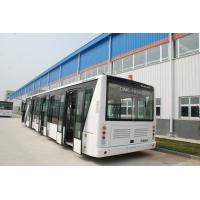 110 Passenger Airport Limousine Bus , 4 Stroke Diesel Engine Airport Coaches