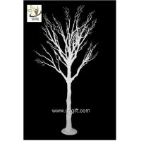 Best UVG wedding centerpiece ideas white plastic dry tree fake decorative twigs for tables DTR29 wholesale