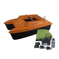 Quality DEVICT bait boat orange / remote control fishing boat Lithium Battery Power for sale