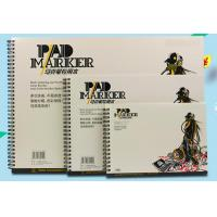 Artist painting pad , the marker pad , A3 / A4 / A5 , low permeation marker pad