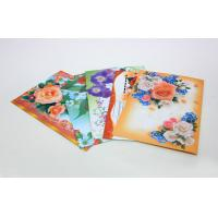 China Custom Gloss Artpaper Postcard Book Printing Services , Foil Stamping Embossing on sale
