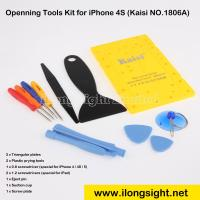 Quality 10 in 1 Disassemble Repair Tools with Screw Plate Kit Kaisi New - 1806A for iPhone 4,Macbook for sale