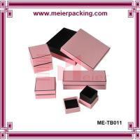 Best Elegant paper perfume box/Clear pink paper box ME-TB011 wholesale
